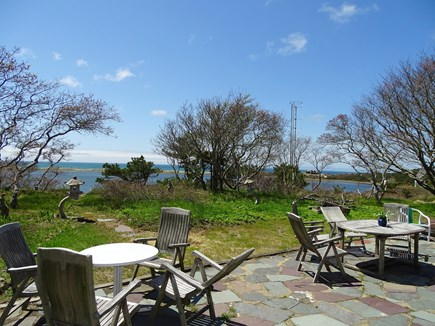 Wellfleet Cape Cod vacation rental - Spend meals outside, with Cape Cod bay views
