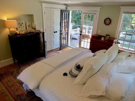 Orleans Cape Cod vacation rental - Upstairs master with a King bed, where you can . . .