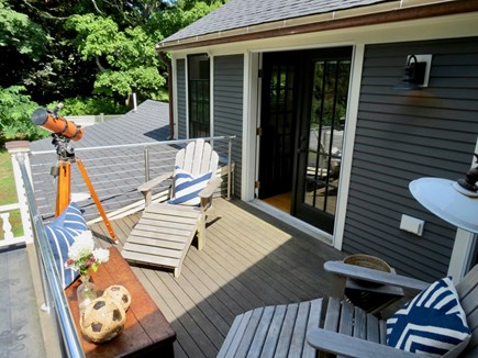 Orleans Cape Cod vacation rental - . . .walk out to this small private deck.