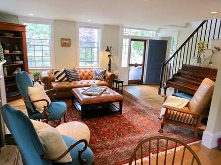 Orleans Cape Cod vacation rental - Beautifully furnished and decorated living room.
