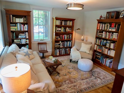 Orleans Cape Cod vacation rental - The library will have a TV and plenty of books to peruse