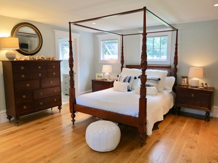 Orleans Cape Cod vacation rental - The main level master has a four-poster queen bed