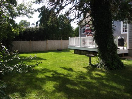 Barnstable Cape Cod vacation rental - Peaceful Backyard