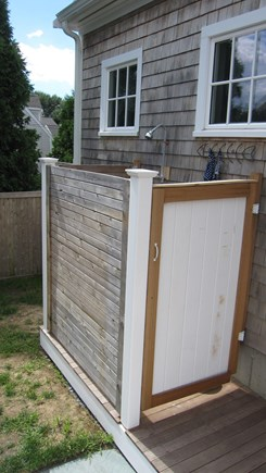 Barnstable Cape Cod vacation rental - Outdoor Shower