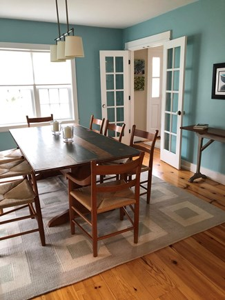 Barnstable Cape Cod vacation rental - Dining Room. Table seats 8-10 people