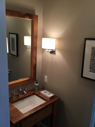 Barnstable Cape Cod vacation rental - Powder Room