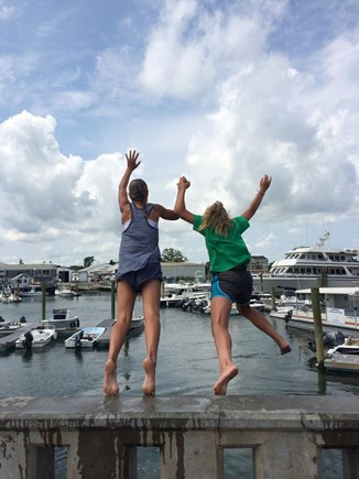 Barnstable Cape Cod vacation rental - Bridge Jumping