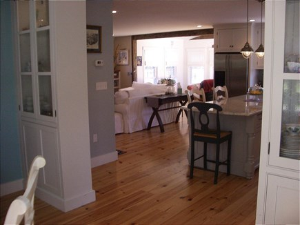 Barnstable Cape Cod vacation rental - View from Dining Room