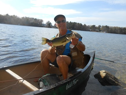 Plymouth, Cedarville MA vacation rental - Fun fishing right behind the house