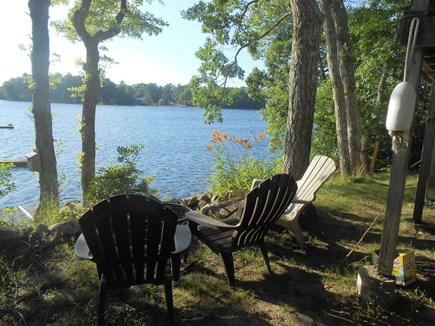 Plymouth, Cedarville MA vacation rental - Backyard seating