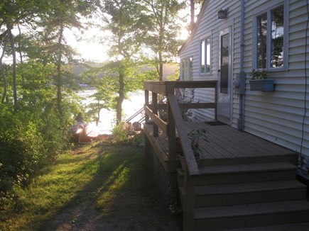 Plymouth, Cedarville MA vacation rental - Back/entry porch