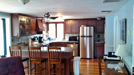 Plymouth, Cedarville MA vacation rental - Open concept kitchen/living area