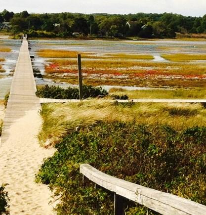 Sandwich Cape Cod vacation rental - The Sandwich Boardwalk in the off season.