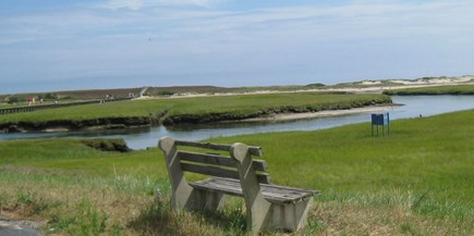 Sandwich Cape Cod vacation rental - View of the Marsh side. Great for kayaking or SUP boards.