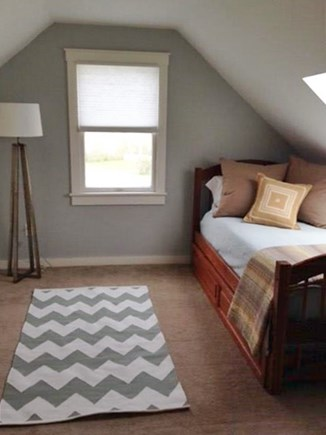 Sandwich Cape Cod vacation rental - Second Floor Bedroom. Twin with trundle and built-ins.