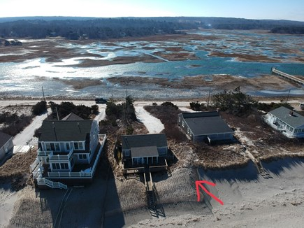 East Sandwich Cape Cod vacation rental - Amazing 360 views of the ocean in front and marsh out back.