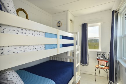 East Sandwich Cape Cod vacation rental - Bedroom 3 with bunk beds.