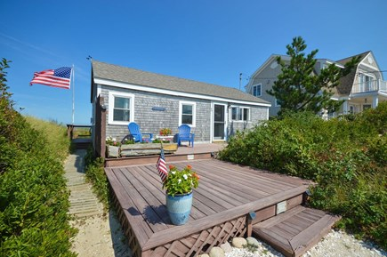 East Sandwich Cape Cod vacation rental - True Cape Cod cottage with plenty of outdoor space on both sides.