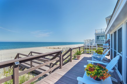 East Sandwich Cape Cod vacation rental - What it's all about...your front yard is the beach.