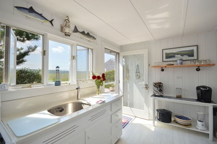 East Sandwich Cape Cod vacation rental - Functional kitchen space with granite counter tops.