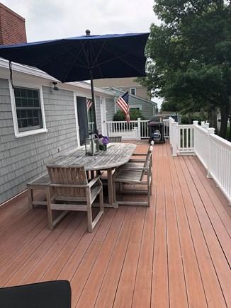 Mashpee, Popponessett Cape Cod vacation rental - Back Deck