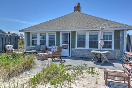 East Sandwich Cape Cod vacation rental - Ocean side deck