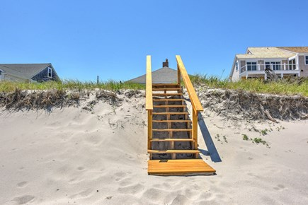 East Sandwich Cape Cod vacation rental - Stairway over the dune