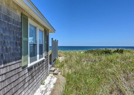East Sandwich Cape Cod vacation rental - View alongside cottage out to sea
