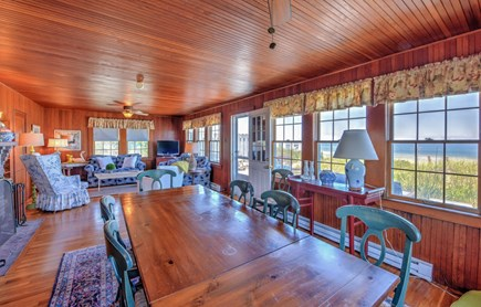 East Sandwich Cape Cod vacation rental - Open Dining/Living space