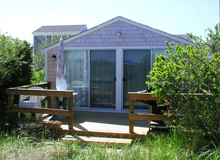 East Sandwich Cape Cod vacation rental - Private back deck