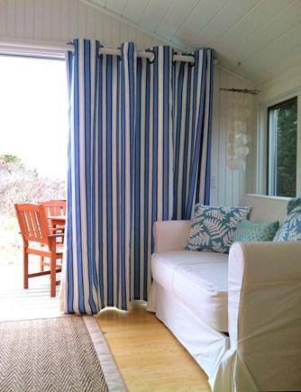East Sandwich Cape Cod vacation rental - Bedroom slider to deck