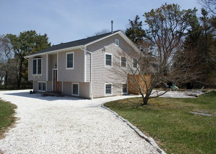 East Sandwich Cape Cod vacation rental - Front view of home