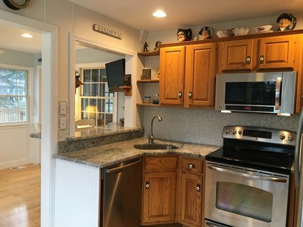 East Sandwich Cape Cod vacation rental - Granite counters & stainless appliances