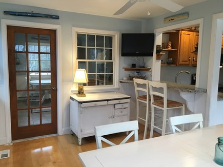 East Sandwich Cape Cod vacation rental - Bartop counter in Dining area