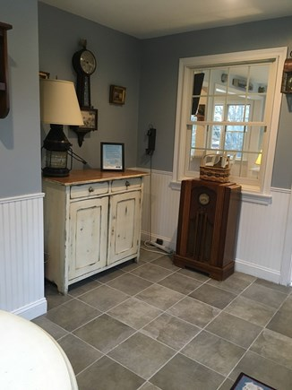 East Sandwich Cape Cod vacation rental - Mudroom with access to deck