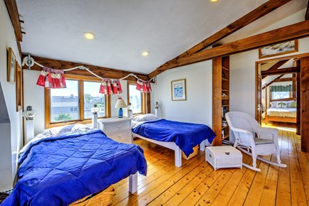 Sandwich, Town Neck Cape Cod vacation rental - Twins off Master Bedroom