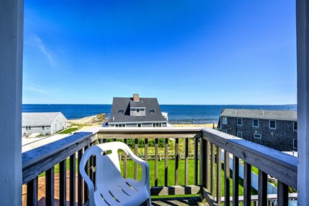 Sandwich, Town Neck Cape Cod vacation rental - Master balcony view