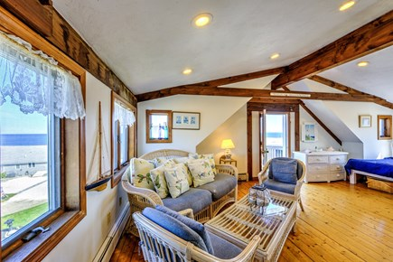 Sandwich, Town Neck Cape Cod vacation rental - Sitting area off Master Bedroom