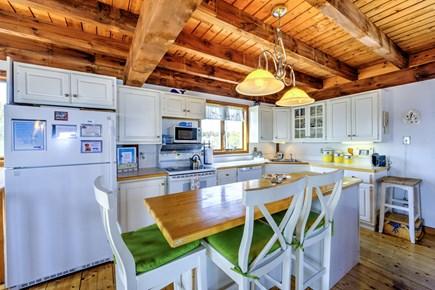 Sandwich, Town Neck Cape Cod vacation rental - Kitchen with island