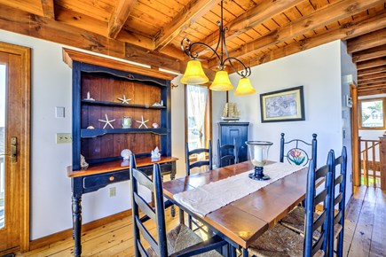 Sandwich, Town Neck Cape Cod vacation rental - Dining