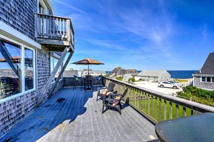 Sandwich, Town Neck Cape Cod vacation rental - Living room deck - 2nd floor