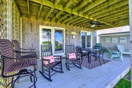 Sandwich, Town Neck Cape Cod vacation rental - Deck - lower level