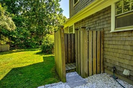 East Sandwich Cape Cod vacation rental - Outdoor shower