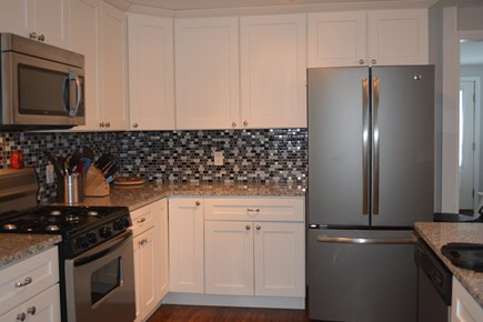 Popponesset Cape Cod vacation rental - Updated kitchen with granite, new french door fridge, dishwasher