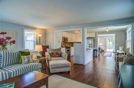 Popponesset Cape Cod vacation rental - Family/TV room open to kitchen
