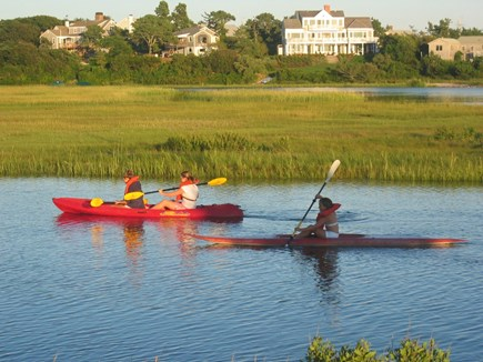 Chatham Cape Cod vacation rental - Excellent Kayaking at High Tide...Kayaks provided..