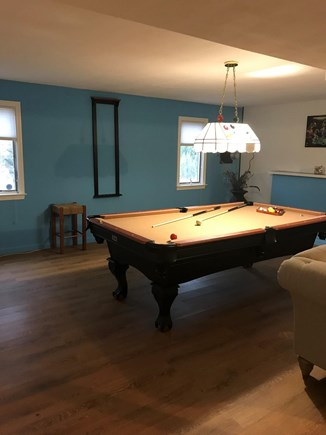 Barnstable, Centerville Cape Cod vacation rental - Pool table, TV, bar, WiFi, & surround sound in lower level