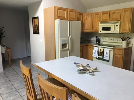 Barnstable, Centerville Cape Cod vacation rental - Eat-in kitchen with breakfast bar