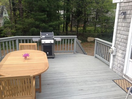 Orleans Cape Cod vacation rental - Deck