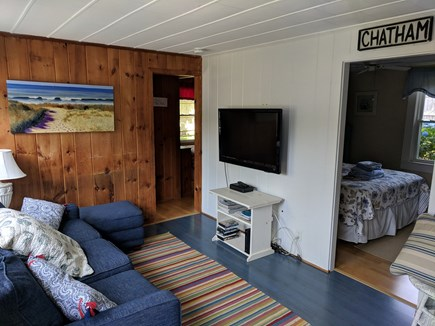 Chatham Cape Cod vacation rental - Cozy Living room w/ Flat screen TV(Netflix enabled), seats 5-6